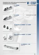 """Clamping equipments """"Vise POWER"""" and """"Vari CLAMP"""""""