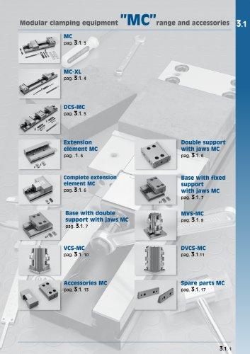 Modular clamping equipment MC range