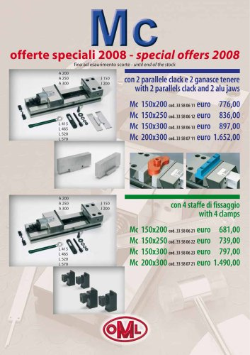 Special offers 2008