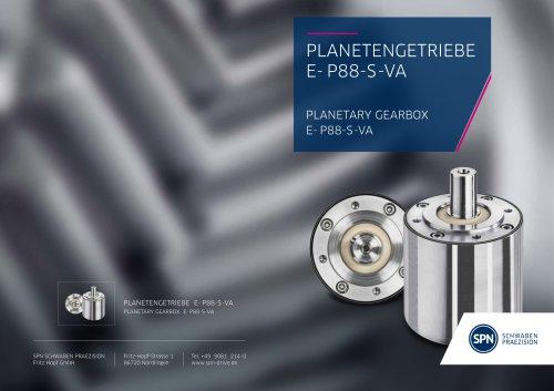 Planetary Gearbox E-P88-S-VA