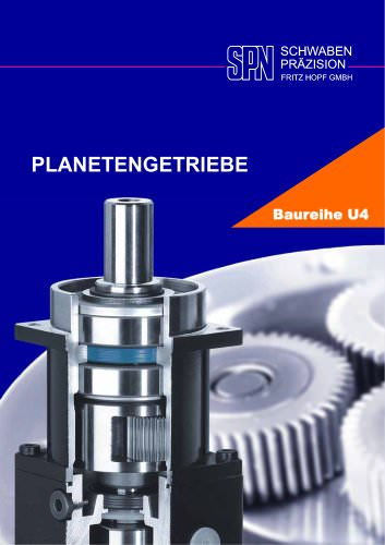 planetary gearboxes model range U4