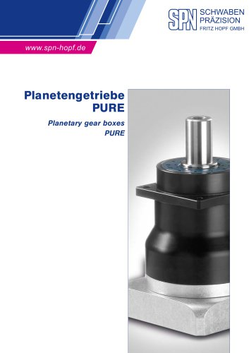 Planetengetriebe PURE