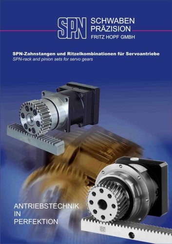Rack and Pinion Sets for Servo Gears