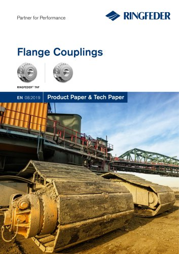 Product Paper Flange Couplings RINGFEDER® TNF