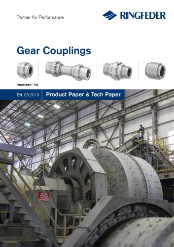 Product Paper Gear Couplings RINGFEDER® TNZ