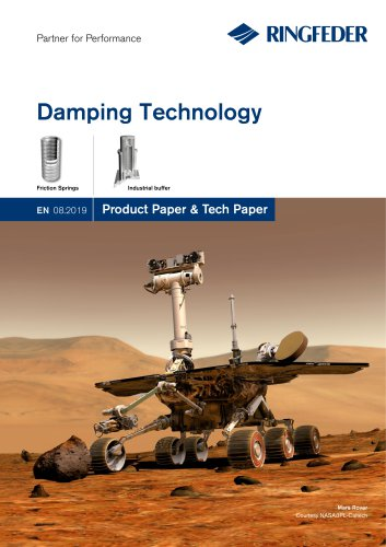 Product Paper RINGFEDER® Damping Technology