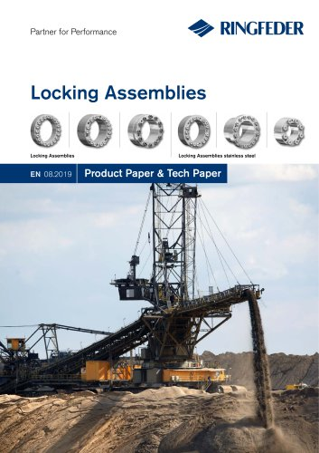 Product Paper RINGFEDER® Locking Assemblies