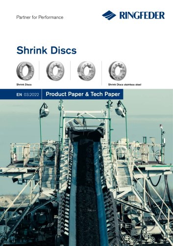Product Paper RINGFEDER® Shrink Discs