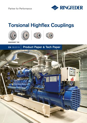 Product Paper Torsional Highflex Couplings RINGFEDER® TNR