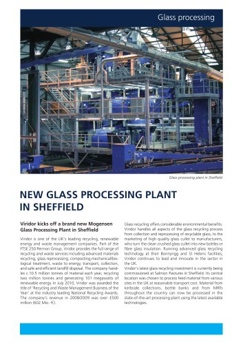GLASS PROCESSING PLANT