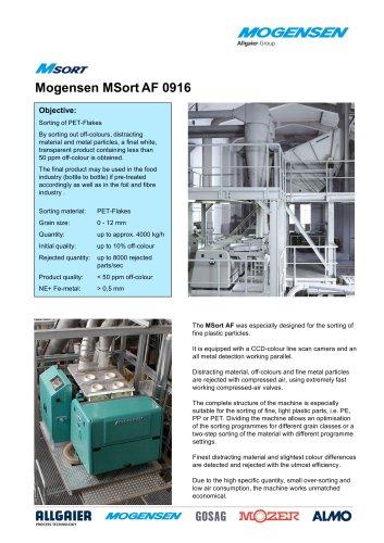 Mogensen MSortAF 0916