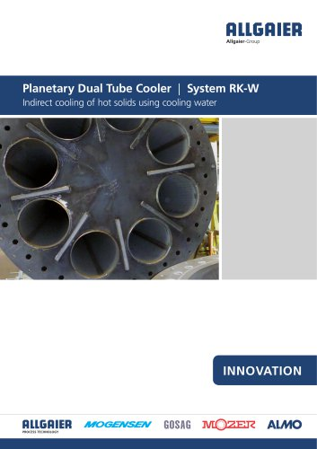 Planetary Dual Tube Cooler | System RK-W