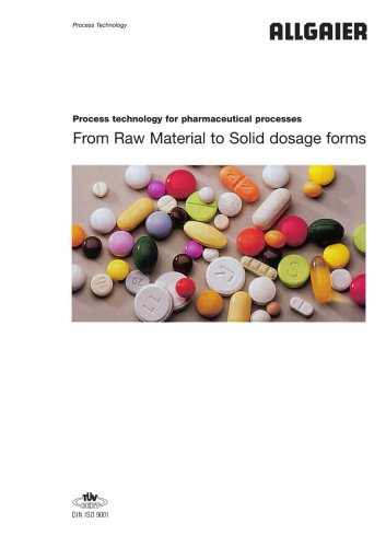 process technology for pharmaceutical processes