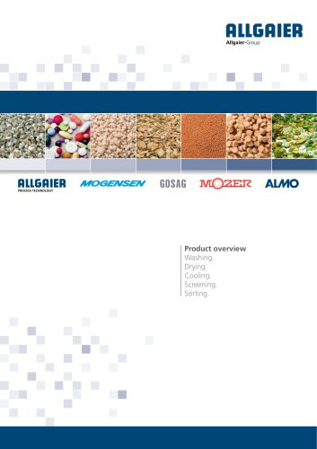Product Overview Allgaier Process TEchnology