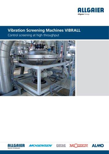 Vibration Screening Machines VIBRALL