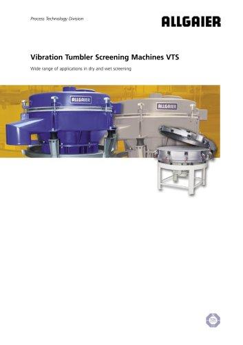 Vibration Tumbler Screening Machines VTS