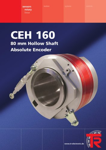 Absolute encoder with 80 mm hollow shaft