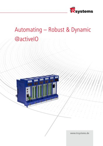 @ctiveIO Automation - rugged and dynamic
