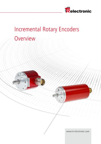 Incremental Rotary Encoders Overview