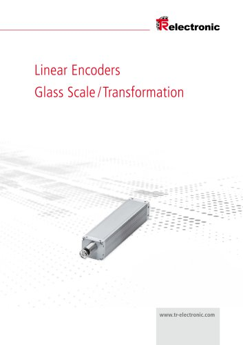 Linear Encoders- Glass Scale / Transformation  Linear Encoders- Glass Scale / Transformation