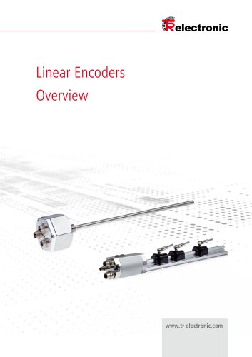 Overview Linear Encoders