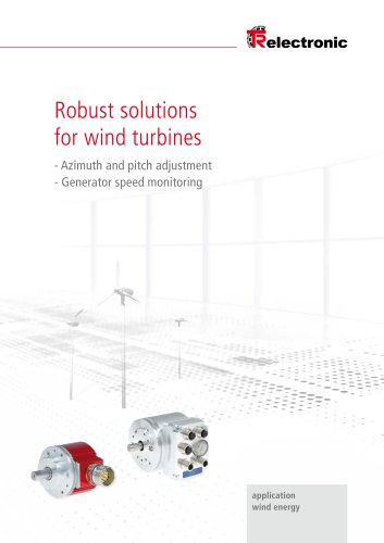Robust solutions for wind turbines