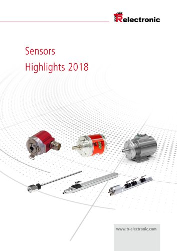 Sensor Highlights 2018