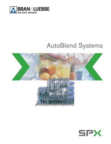 AutoBlend Process Systems - BL-1602-US