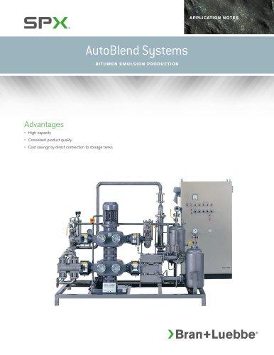 AutoBlend Systems - Bitumen Emulsion Production - BL-1615-US