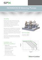 NOVADOS B Metering Pumps - BL-110