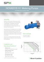 nOVaDOS h1 metering pumps