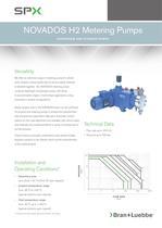 NOVADOS H2 Metering Pumps - BL-105