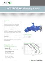 NOVADOS H5 Metering Pumps - BL108