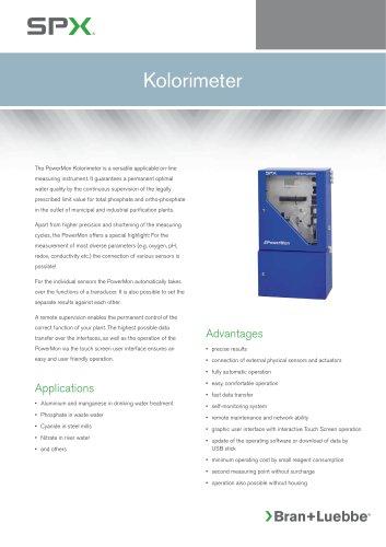 PowerMon Kolorimeter - BL-163