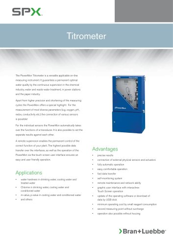 PowerMon Titrometer - BL-166