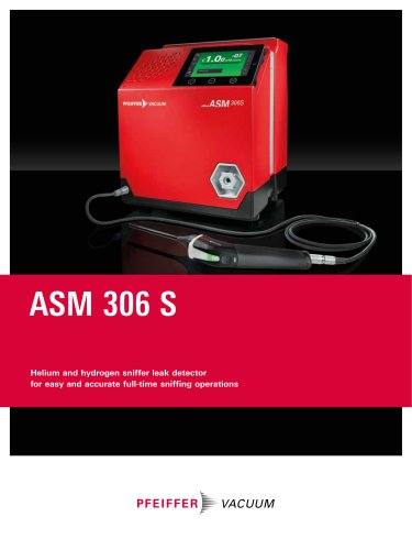 ASM 306 S - Helium and hydrogen sniffer leak detector