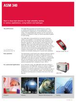 ASM 340 - Multipurpose leak detector using helium and hydrogen - 2
