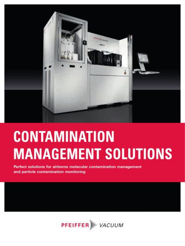 Contamination Management Solutions