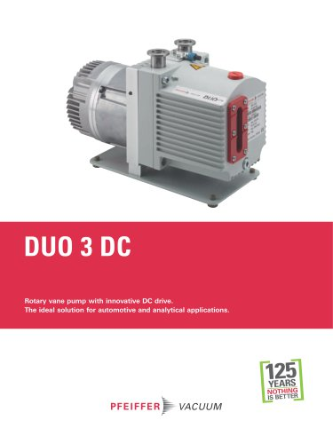 Duo 3 DC - Rotary vane pumps
