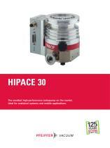 HiPace 30 - Turbopumps - 1