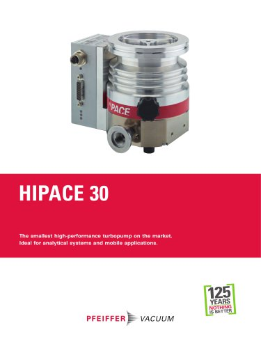 HiPace 30 - Turbopumps