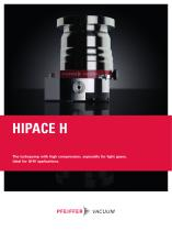 HiPace 300/700 H - High compression, especially for light gases - 1