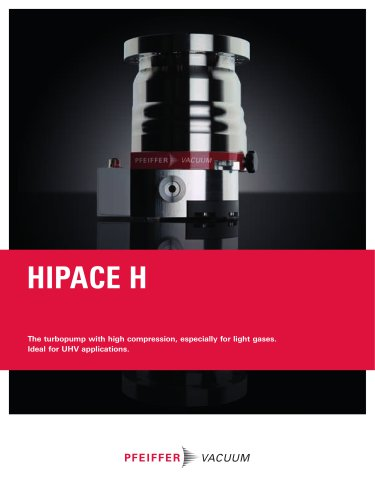 HiPace 300/700 H - High compression, especially for light gases