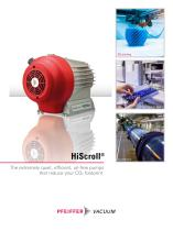 HiScroll - The extremely quiet, compact, oil-free pump. To reduce your carbon footprint - 1
