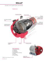HiScroll - The extremely quiet, compact, oil-free pump. To reduce your carbon footprint - 6