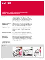 Innovative CCIT solution for the pharmaceutical industry based on optical emission spectroscopy - AMI 1000 - 4