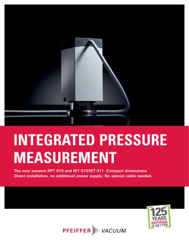 Integrated Pressure Measurement