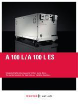 Multi-stage Roots Pumps - A 100 L ES - 1