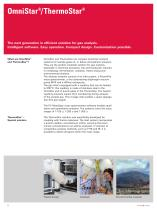 OmniStar / ThermoStar - The next generation in efficient solution for gas analysis - 2