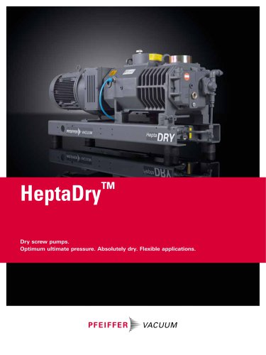 Screw Pumps - HeptaDry